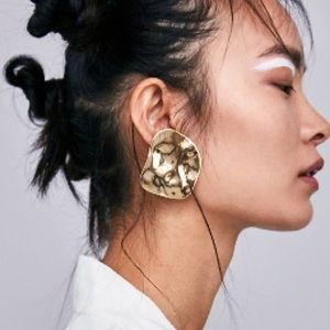 ZARA Metal Plate Earrings